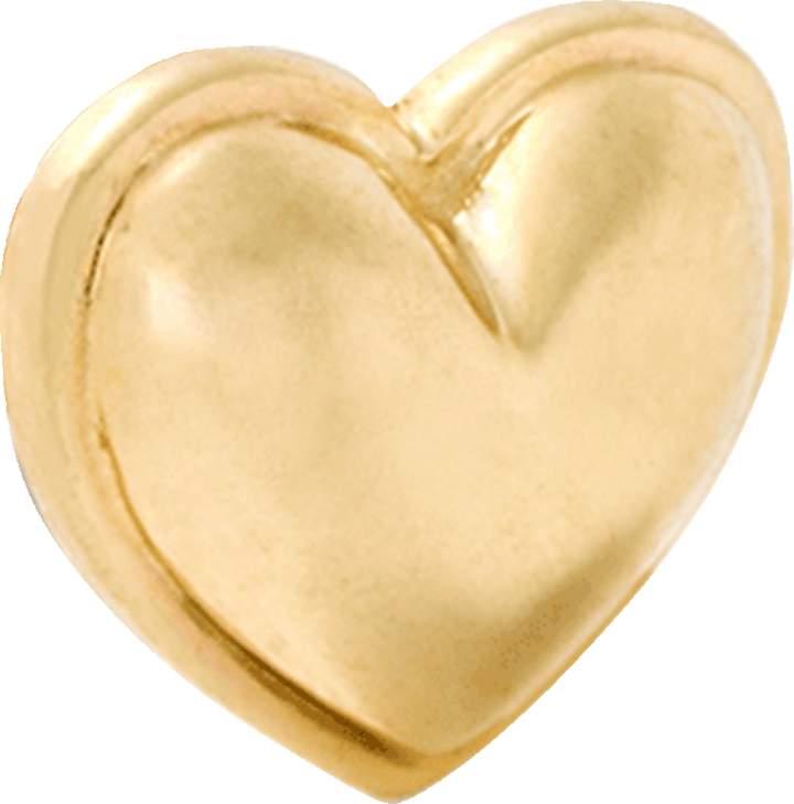 Alison Lou Gold Heart Stud