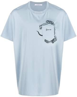 Givenchy logo pocket T-shirt