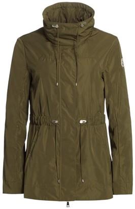 Moncler Ocre Short Rain Jacket