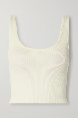 NAGNATA Suska Ribbed Stretch-knit Tank - Cream