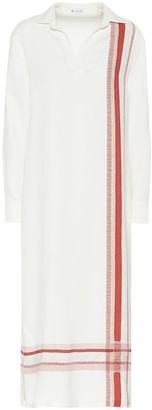Loro Piana Agatha stretch-silk jersey dress