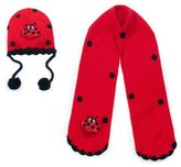 Kidorable Girls Ladybug Hat Scarf Handmade Lightweight Winter Set