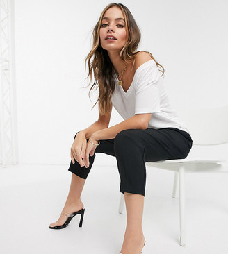 Asos DESIGN Petite tailored smart tapered pants