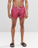 Swells Short Shorts In Pink