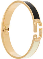 Marc Jacobs Icon block hinge cuff