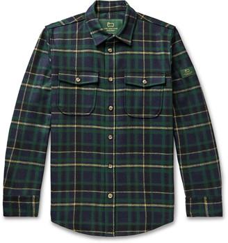 Woolrich + Checked Wool-Blend Flannel Shirt