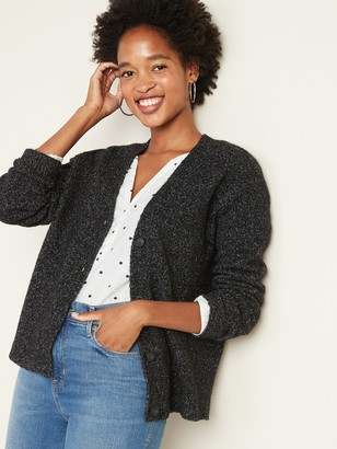 Old Navy Marled Boucle Cardi for Women