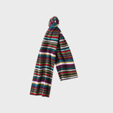 Paul Smith Boys' 7+ Years Cashmere-Blend Striped Scarf