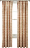 JCPenney Home ExpressionsTM Wright Thermal Back Rod-Pocket Curtain Panel