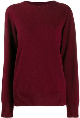 Maison Margiela Oversized Round Neck Sweater