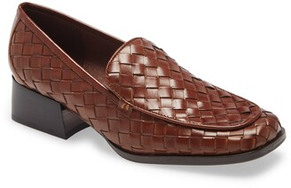 Jeffrey Campbell Brodric Woven Loafer