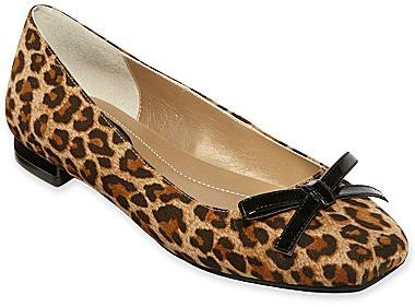 JCPenney Liz & Co.® Betsy Bow-Embellished Slip Ons
