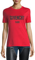 Givenchy Destroyed Logo T-Shirt
