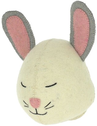 Fiona Walker Sleepy Bunny Head Wall Decoration (22cm)