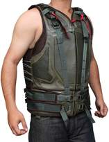 BlingSoul Dark Knight Leather Biker Vest (L)