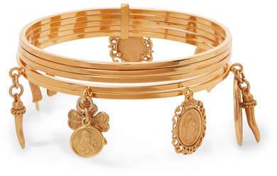 Dolce & Gabbana Gold-tone Bangle