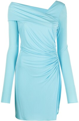 Emilio Pucci Asymmetric Fitted Dress