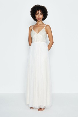 Coast Embellished Bodice Maxi Dress