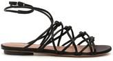 L'Autre Chose Lautre Chose LAutre Chose Satin Sandals