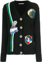 Marco De Vincenzo patch cardigan