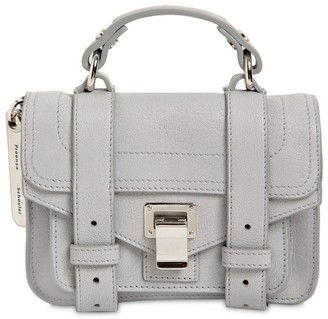 Proenza Schouler Ps1 Micro Leather Top Handle Bag