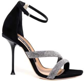 Sergio Rossi Strap Embellished Sandals