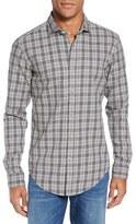BOSS Men's 'Ridley' Slim Fit Check Sport Shirt