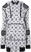 Kokon To Zai logo embroidered sweater dress - women - Cotton - XS