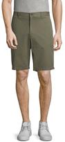 Vince Flat Front Cotton Shorts