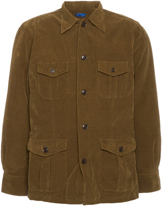 Ring Jacket Cotton-Corduroy Shirt