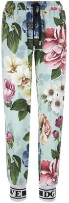 Dolce & Gabbana Floral Print Sweatpants