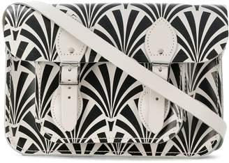 The Cambridge Satchel Company 11 Inch Deco print satchel