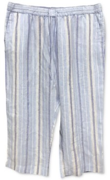 Charter Club Striped Capri Pants, Created for Macy's