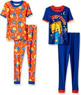 Komar Kids Daniel Tiger Boys 4 piece Pajamas Set