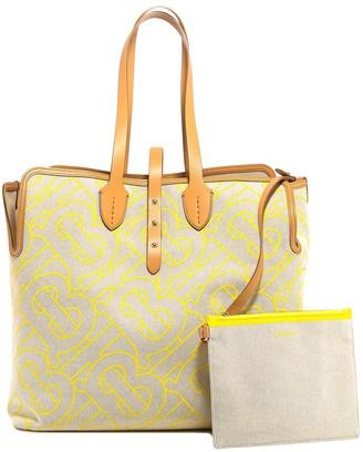 Burberry Tb Logo Tote Bag