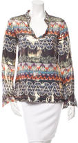 Tory Burch Silk Printed Tunic