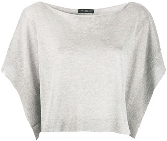 Antonelli Knitted Crop Top