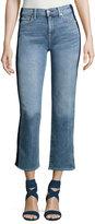 7 For All Mankind Kiki W/ Shadow Side Seam Wide-Leg Jeans, Indigo