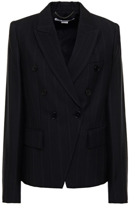 Stella McCartney Pinstriped Wool-blend Twill Blazer