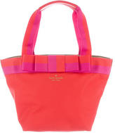 Kate Spade Woven Small Bow Tote