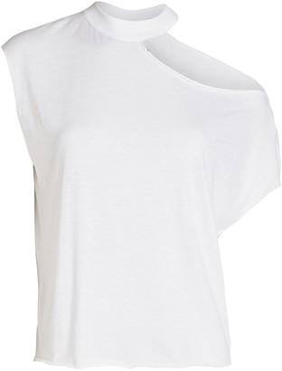 RtA Axel Cotton Cut-Out T-Shirt