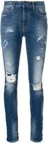 Marcelo Burlon County of Milan ripped skinny jeans