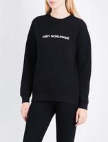 Obey Static Worldwide jersey sweatshirt