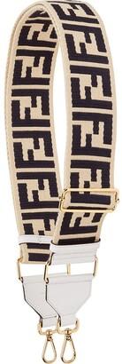 Fendi FF print bag strap