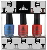 Jessica Summer Brights Midi Vitamin Enriched Custom Colours Gift Set, 3 x 7.4ml