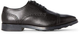 Cole Haan Black Jefferson Grand Brogue Derby Shoes