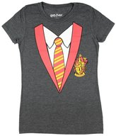 Bioworld Harry Potter Juniors House Costume Heather Grey T-Shirt