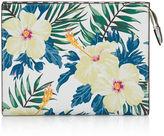 Henri Bendel West 57th Floral Print Cosmetic Clutch