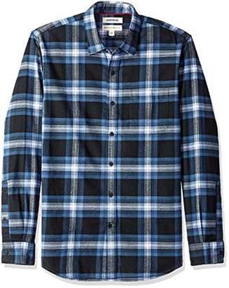 Goodthreads Standard-fit Long-sleeve Brushed Flannel Casual Shirt,(EU M)