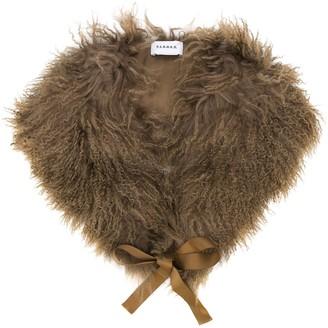 P.A.R.O.S.H. Ribbon Fur Scarf